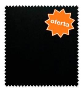 OFERTA Algodón 100% Liso Blanco y Negro