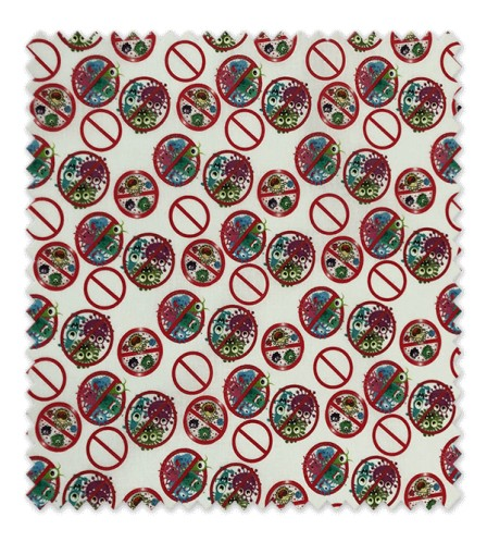 Algodón 100% Colección Virus