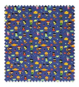 Algodón 100% Colección Mini Héroes