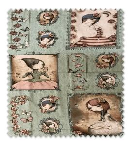 Panel Cuento Muñecas Gorjuss Colección Mirabelle