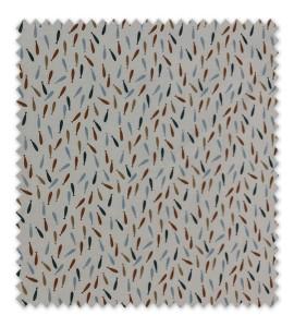 Algodón 100% Mini Peces de Colores