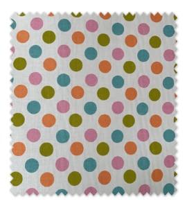 Algodón 100% 2,80 m ancho Dots Multicolor