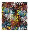 Viscosa Estampada Flores Acuarela
