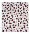 Algodón 100% Japo Flor de Cerezo Granate 2,80m ancho