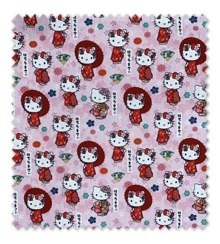 Algodón 100% Hello Kitty LICENCIA