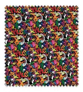 Algodón 100% Música Grafitis