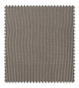 Cuadro Vichy 3mm Color Negro