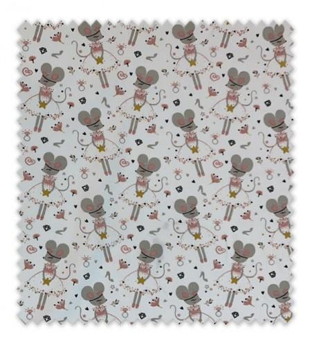 Punto Algodón/ Camiseta Ratitas