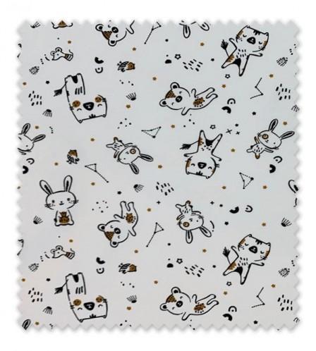 Punto Algodón/ Camiseta Conejitos