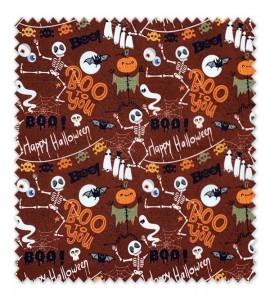 Algodón 100%, Orgánico Halloween 1