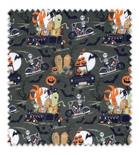 Algodón 100%, Orgánico Halloween 2