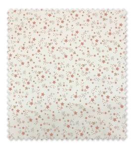Algodón 100% Estrellas Combinadas Rosas
