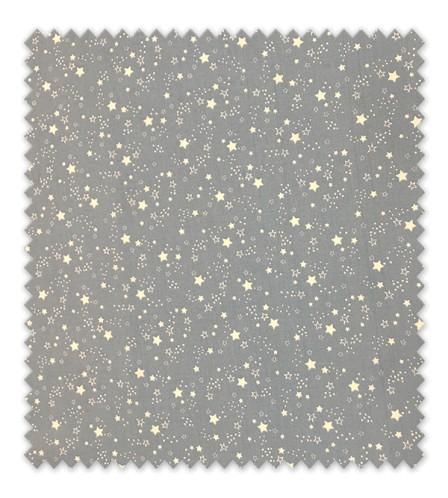 Algodón 100% Estrellas Fondo Azul Jeans