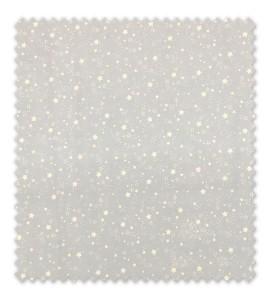 Algodón 100% Estrellas Fondo Azul Bebé