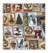 Loneta Estampada Navidad Cartas
