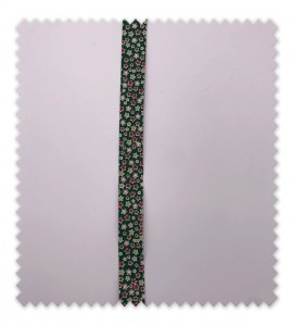 Bies Navidad 18mm Estrellas Verde