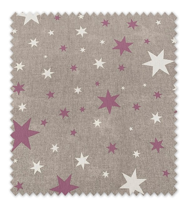 Tela loneta estampada Estrellas