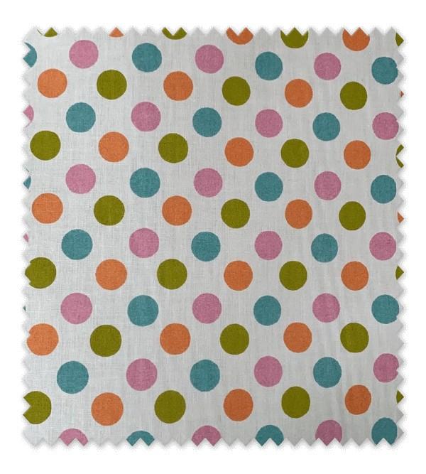 Algodón Estampado Tedy Dots Multicolor