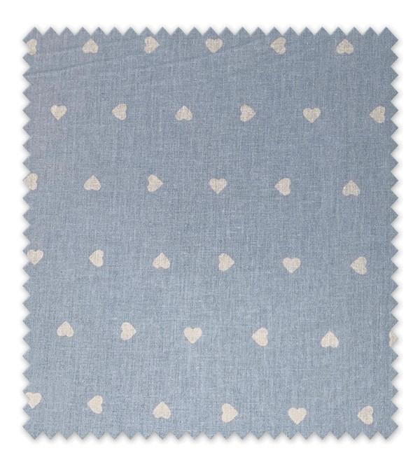 Algodón Estampado Tedy Cor Azul