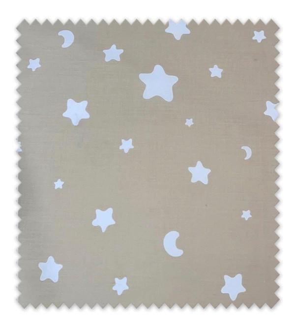 Lunas y Estrellas fondo Beig