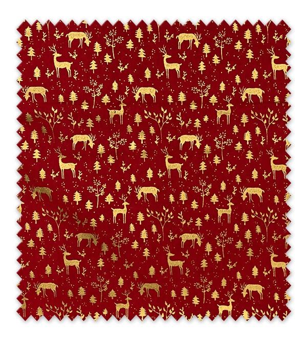 Navidad Gold Rojo 5