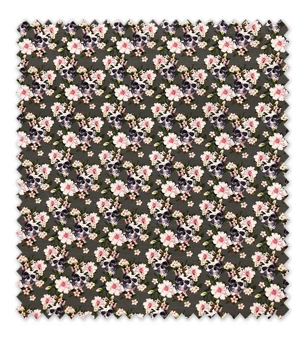 Calaveras con flores