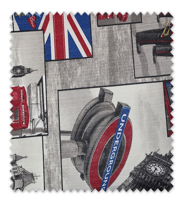 Telas loneta estampada London
