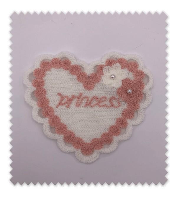 Corazón Princess Rosa