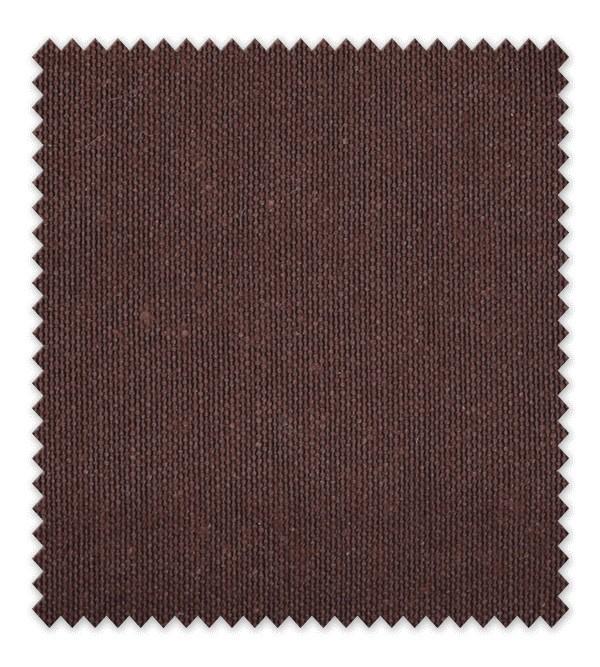 Telas de loneta lisa 156 Marrón Chocolate
