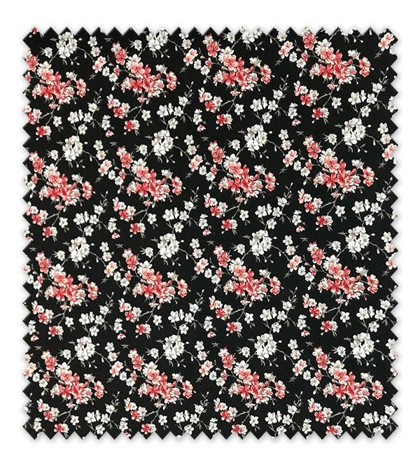 Tokio Fondo Negro Flor