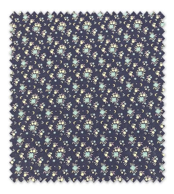 Flores Fondo Azul