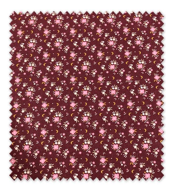 Flores Fondo Granate