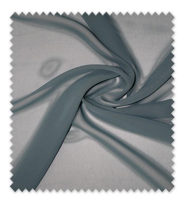 Telas de Gasa Azul314