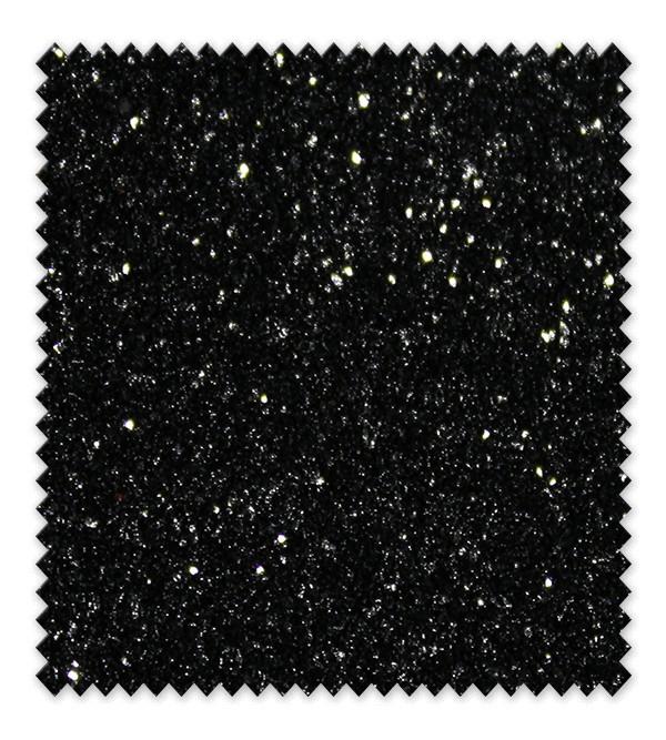 Goma Eva Glitter negro
