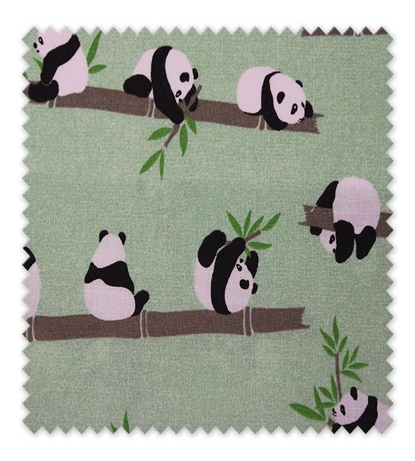 Algodón Estampado Pandas