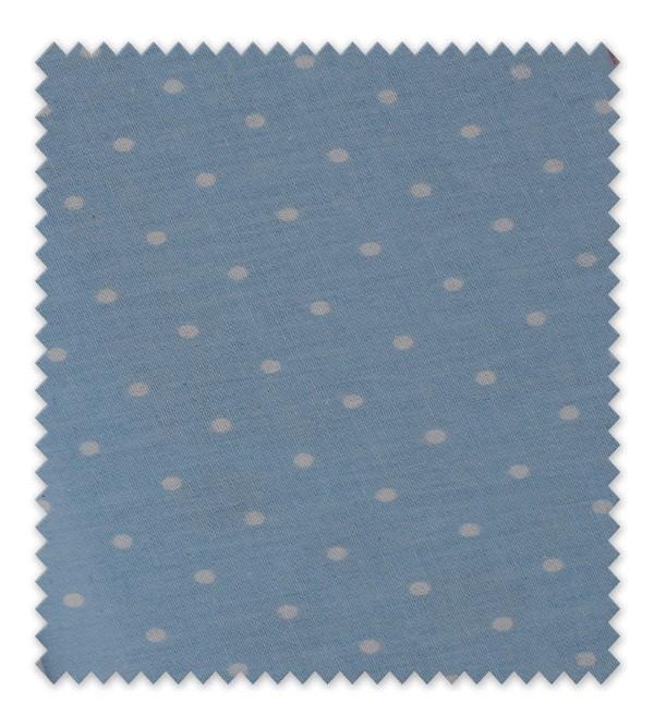 Algodón Estampado Tedy Baby Azul