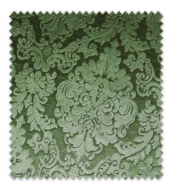 Terciopelo Damasco Verde